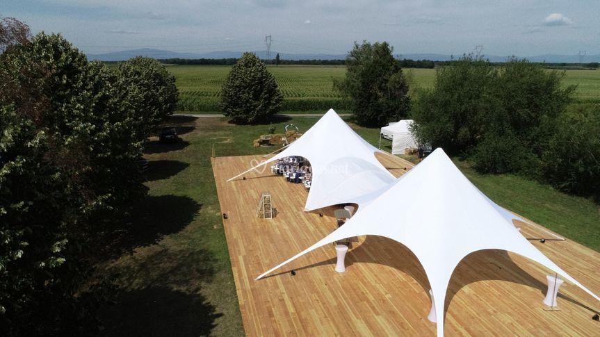 Tente Étoile