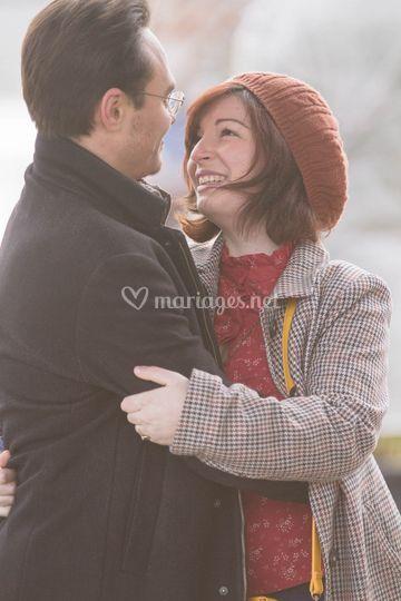 Maeva et Bastien Engagement