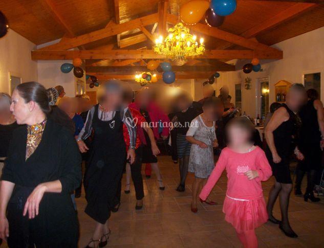 Danse en groupe
