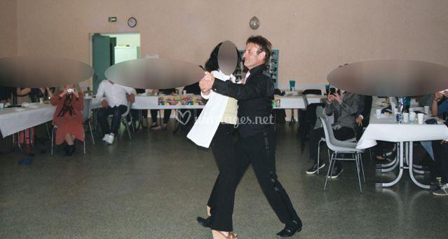 Danse avec les invités