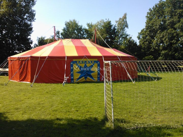 Possibilité chapiteau cirque