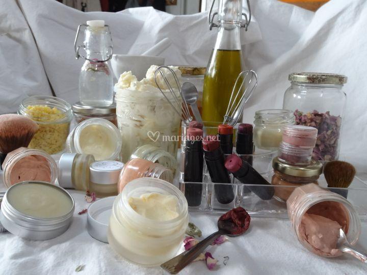 Fabrication de cosmétiques bio
