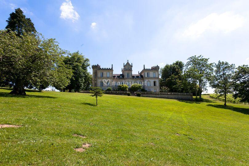 Château côté parc
