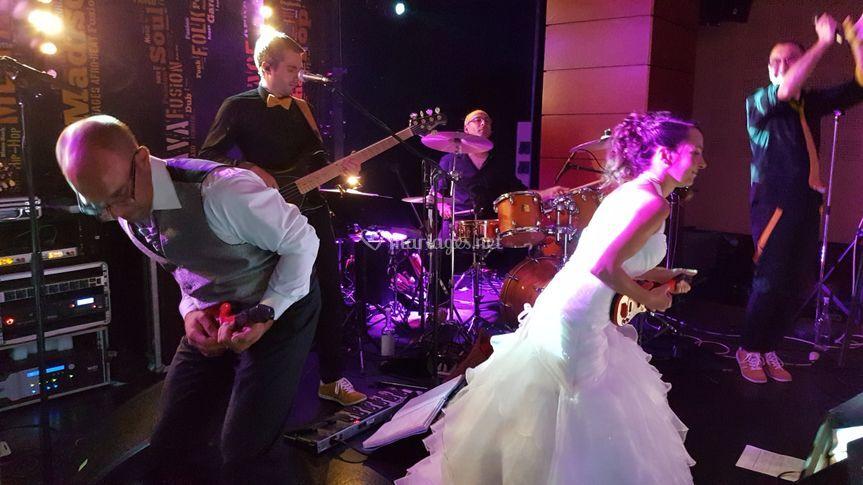 Le rock des mariés