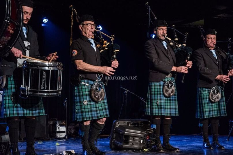 Stoat Pipe Band Society