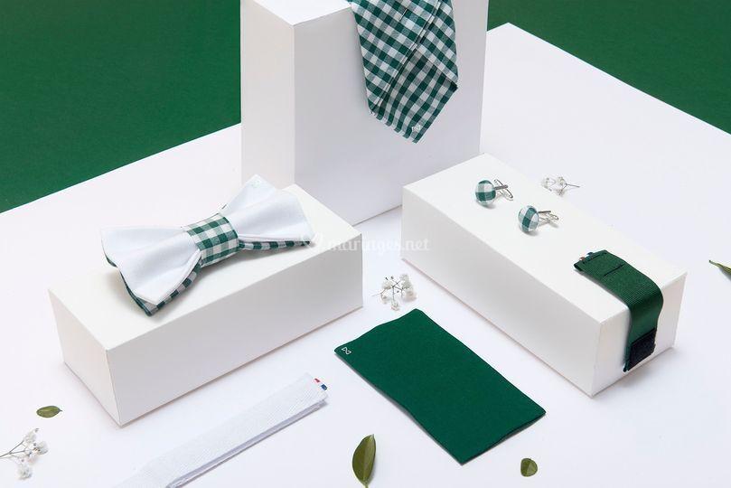 Ambiance Paris - Vichy vert