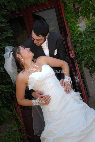 Photo mariage thau
