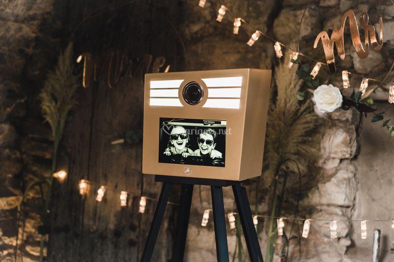 Notre Photo Booth disponible à