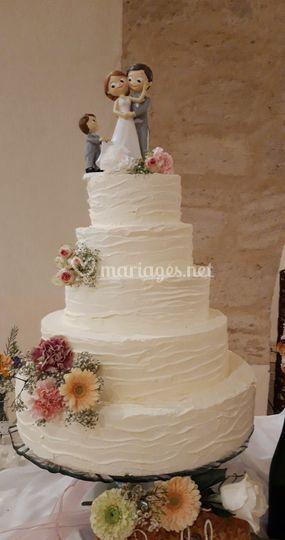 Weeding cake Maison