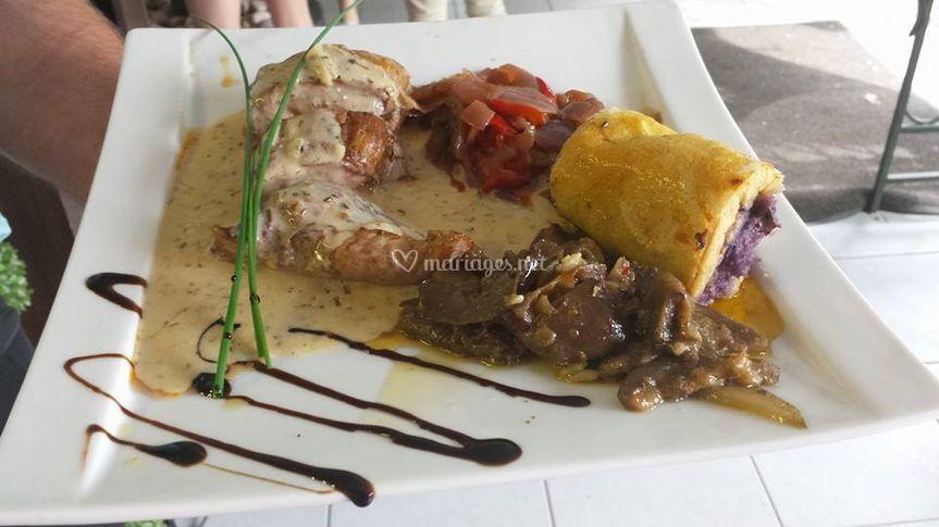 Filet migon de porc au poivre