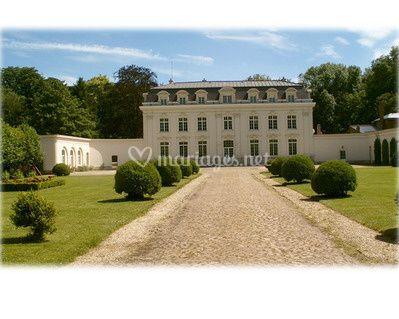 Façade Orangerie du Château sur L'Orangerie du Château