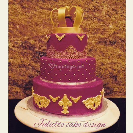 Wedding cake Baroque Juliette