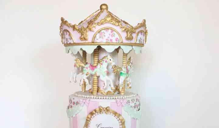 Cake design carrousel Juliette