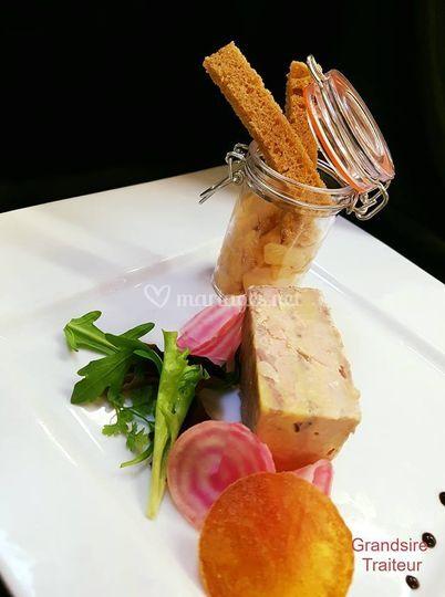Finger de foie gras