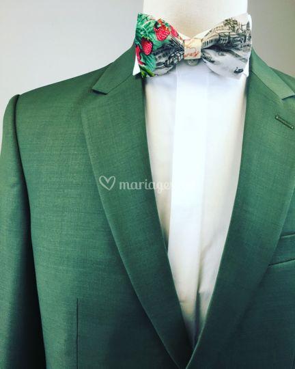 Costume en vert