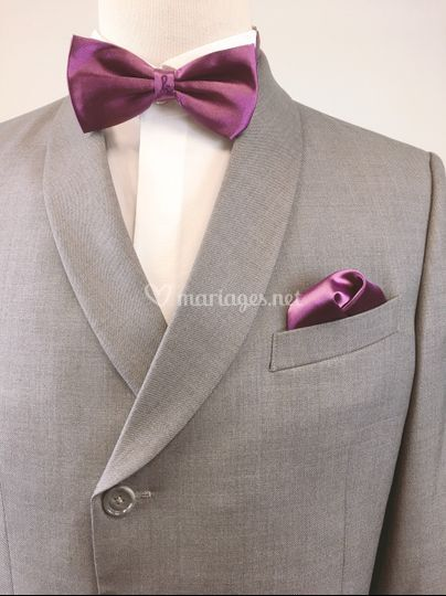 Costume gris claire