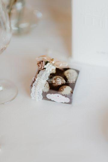 Coffret chocolat personnalisé