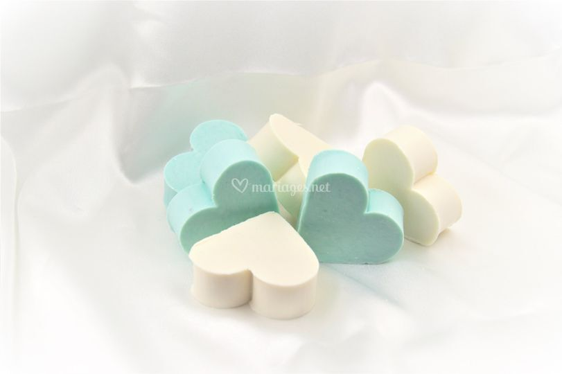 Coeur savon 8 parfums