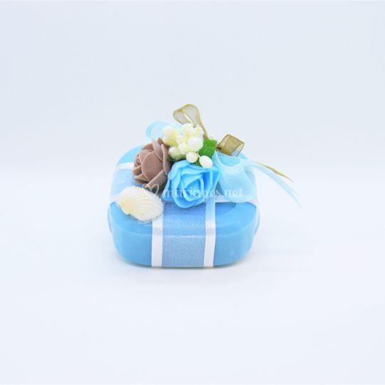 Coffret savon décoré à l'argan