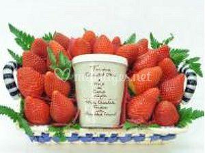 Corbeille de fraises