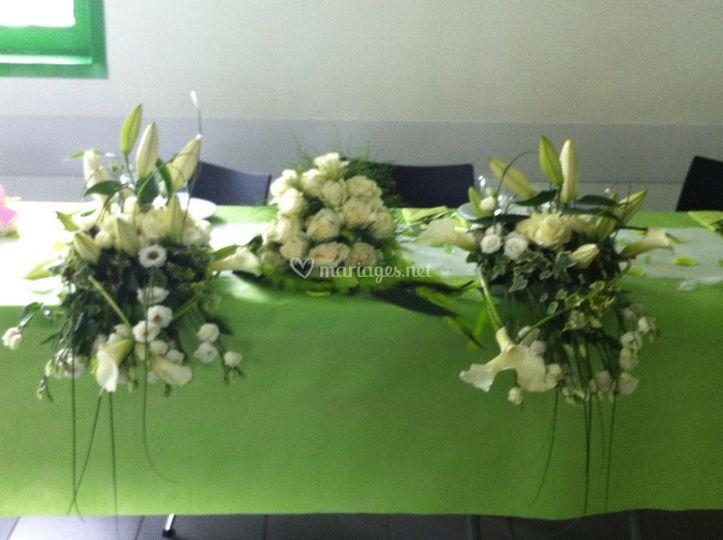 D coration florale de soso - Table des maries ...