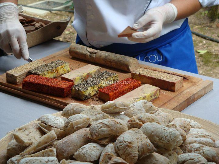 Dégustation de foie gras