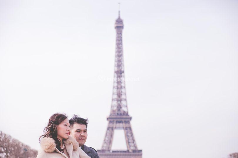 Couple Paris