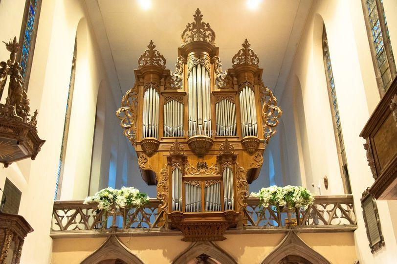 Décor dans l'église