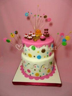Cake design pour 30 personnes