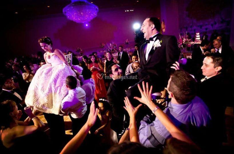 Portés des mariés