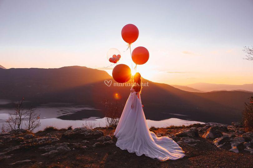 Mariage avec vue sur le lac
