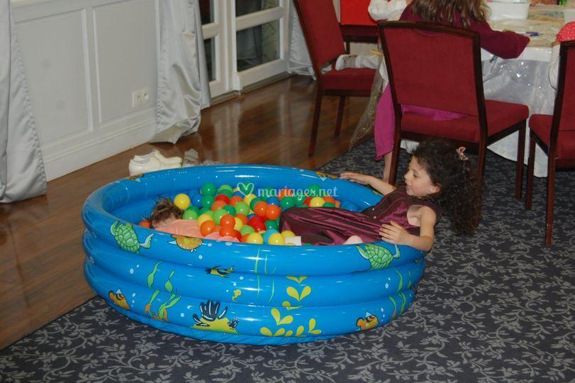 La piscine à boules