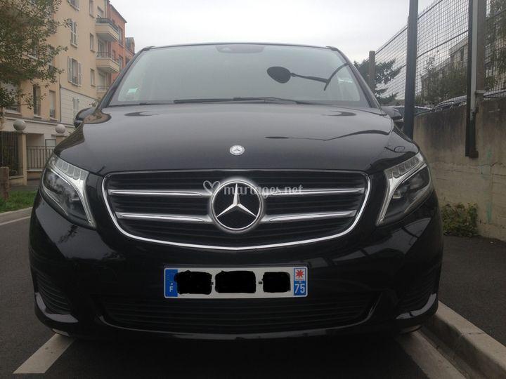 Mercedes Classe V tout confort