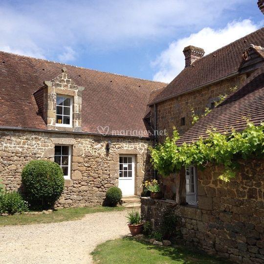 Intérieur du hameau