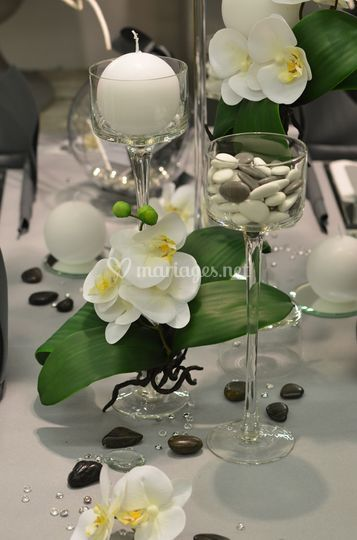 Table mariage exotique