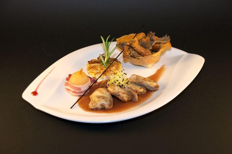 Filet de Caille Porto