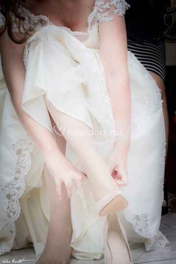 Préparation de la mariée