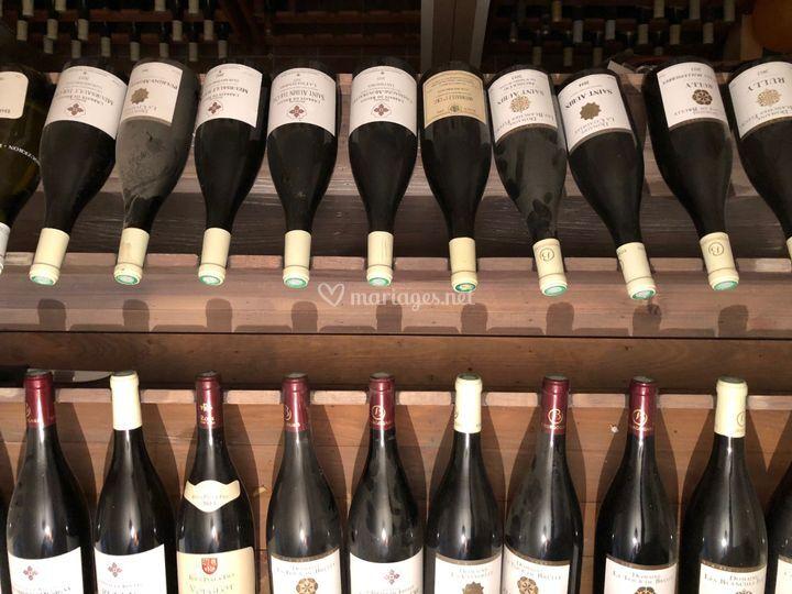 Présentation de vins