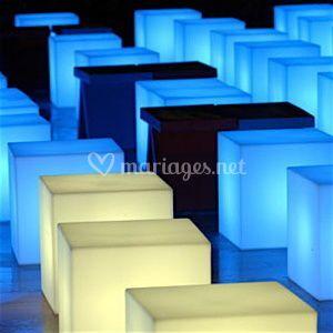 Cubes lumineux
