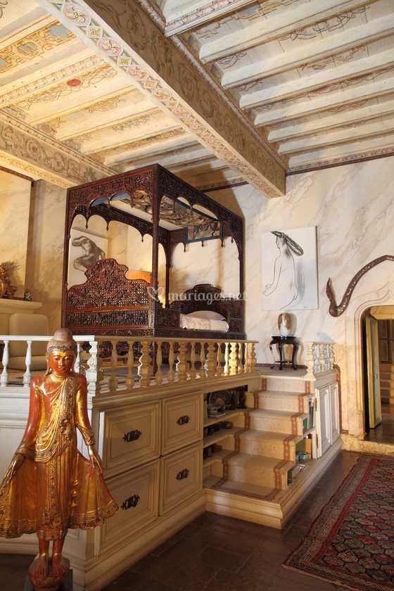 chambre chinoise HD de Château de Mauriac | Photo 49