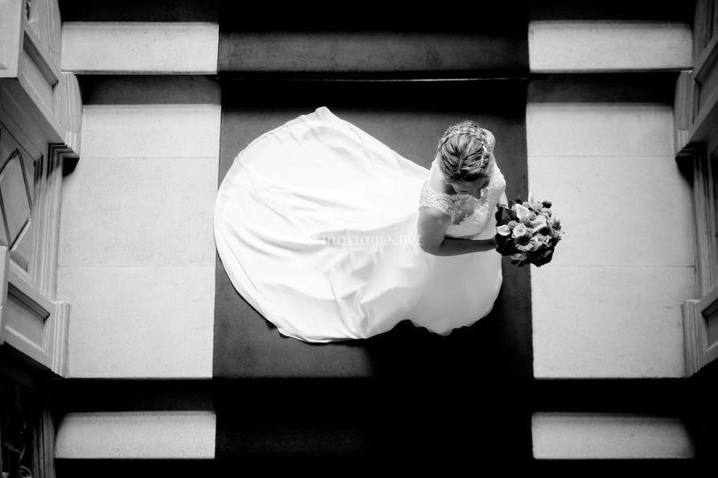 Mariée à la mairie