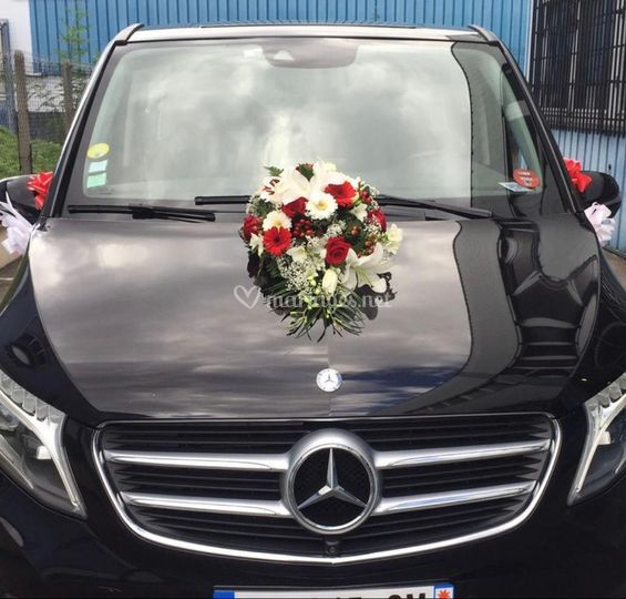 Mercedes Van pour vos invités