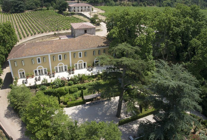 vue a 233 rienne jardin terrasse de la magnanerie de isidore photo 13