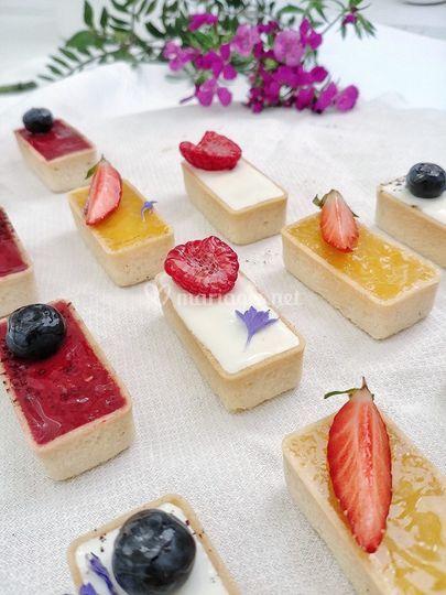 Mini tartelettes de fruits