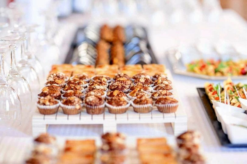 Traiteur sweet table