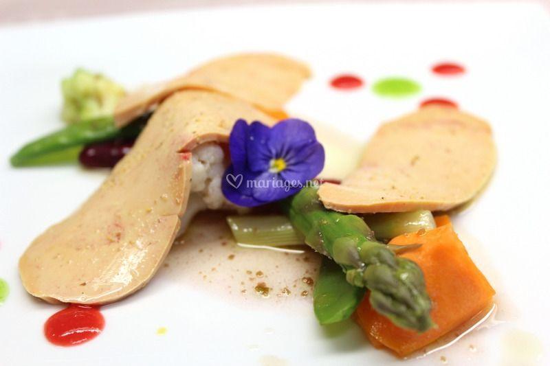 Fine tranche foie gras