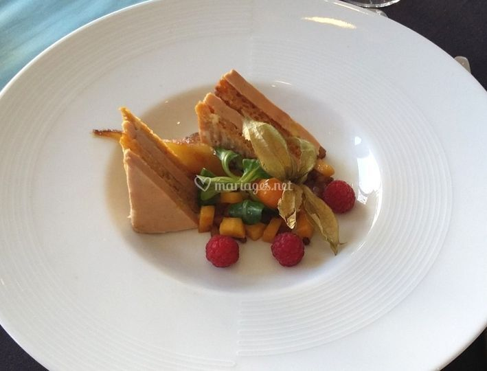 Millefeuille de foie gras