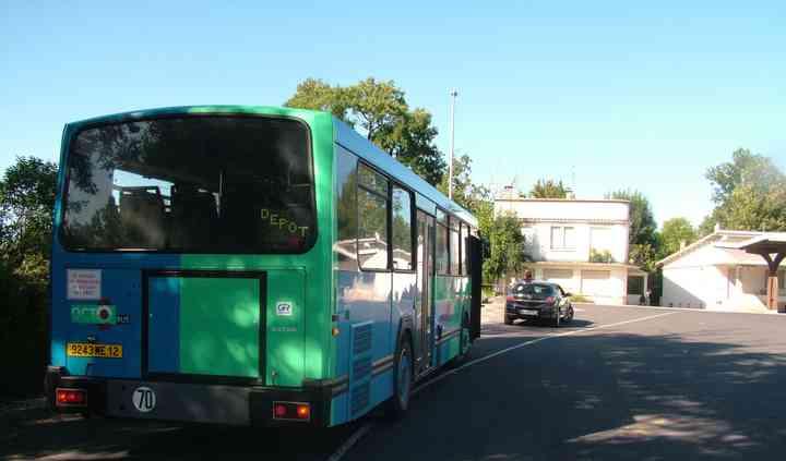 Les magnifiques couleurs du bus