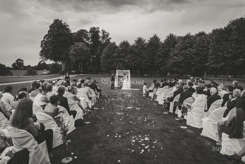 Cérémonies mariage extérieur