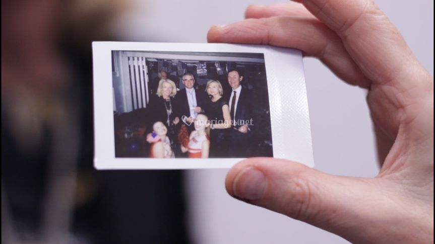 Polaroïd Photobooth animation